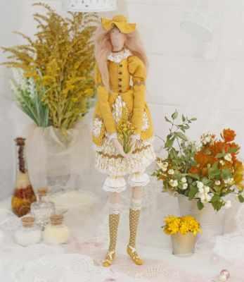 Набор для изготовления игрушки HappyMade Ш107 Набор для шитья и рукоделия Леди Аврора