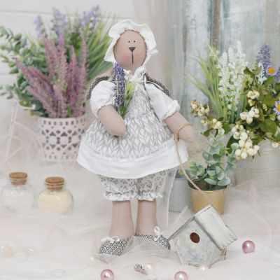 Набор для изготовления игрушки HappyMade Ш120 Набор для шитья и рукоделия Зайка Элла набор для творчества цветница набор для шитья текстильной игрушки зайка романтик