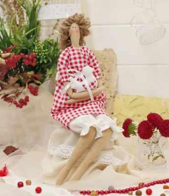 Набор для изготовления игрушки HappyMade Ш134 Набор для шитья и рукоделия Ангелочек Брук