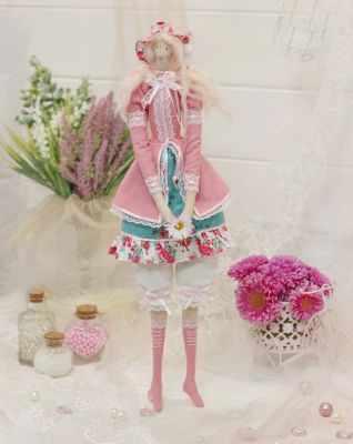 Набор для изготовления игрушки HappyMade Ш108 Набор для шитья и рукоделия Леди Амелия