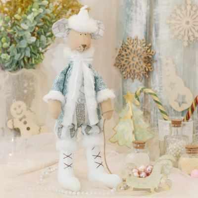 Набор для изготовления игрушки HappyMade Ш124 Набор для шитья и рукоделия Санта Маус