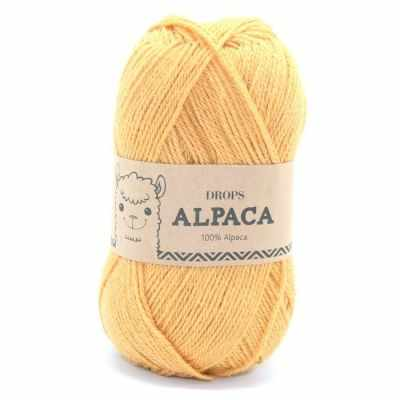 Пряжа DROPS Пряжа DROPS Alpaca Цвет.2923 шафран