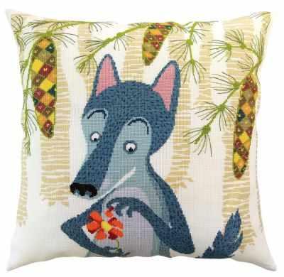 Набор для вышивания РТО CU061 Волки и елки