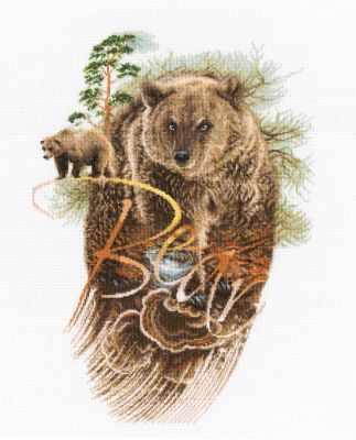 Набор для вышивания РТО M781 Хозяин леса набор для вышивания рто m70029 сказки старого леса