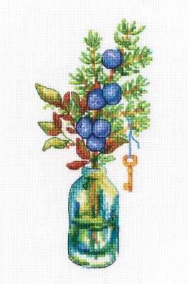 Набор для вышивания РТО C322 Лесные бутоньерки