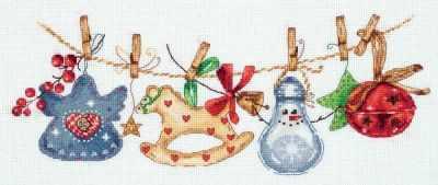 Набор для вышивания Panna PR-7085 Праздничная гирлянда 0 pr на 100