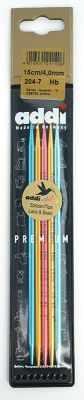 Инструмент для вязания ADDI 204-7/4-15 Спицы, чулочные, сверхлегкие №4, 15 см запчасти forclaz колышки для палаток для треккинга сверхлегкие nonano x 5 шт