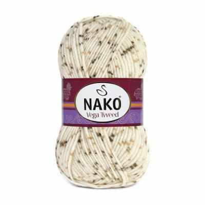 Пряжа Nako Пряжа Nako Vega Tweed Цвет.35017