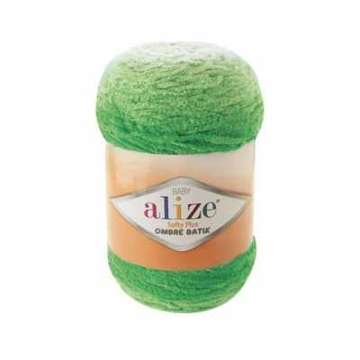 Пряжа Alize Пряжа Alize Softy Plus Ombre Batik Цвет.7287