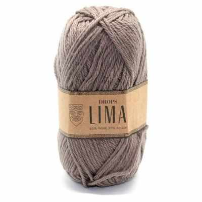 Пряжа DROPS Lima Цвет.5310 Light brown