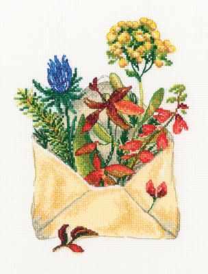 Набор для вышивания РТО M768 Письмо из леса набор для вышивания рто m70029 сказки старого леса
