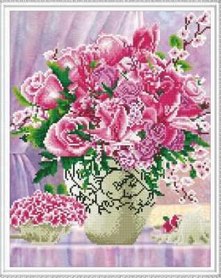 Набор для вышивания Molly Алмазная вышивка KM0119 Самоцветы