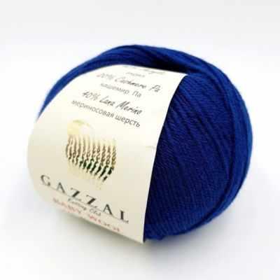 Пряжа GAZZAL Baby Wool XL Цвет.802XL Синий