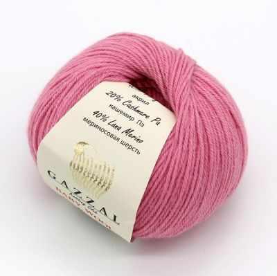 Пряжа GAZZAL Пряжа GAZZAL Baby Wool XL Цвет.831XL Розовый