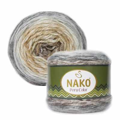 Пряжа Nako Пряжа Nako PERU COLOR Цвет.32186