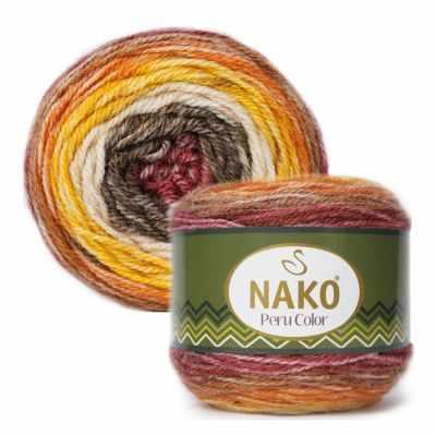 Пряжа Nako PERU COLOR Цвет.32188