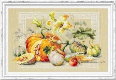 Набор для вышивания Чудесная игла 120-111 Праздник урожая 1872 романтик чудесная игла чудесная игла