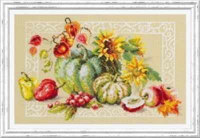 Фото - Набор для вышивания Чудесная игла 120-112 Дары осени чудесная планета земля