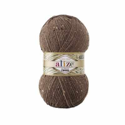 Пряжа Alize Пряжа Alize Alpaca Tweed Цвет.688 Кофе с молоком