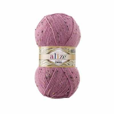 Пряжа Alize Пряжа Alize Alpaca Tweed Цвет.269 Розовый
