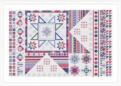 Набор для вышивания RIVERDRIFT House RR512 Falling Star