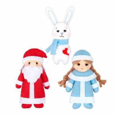 Набор для изготовления игрушки Miadolla TF-0273 Зимняя сказка (Miadolla)