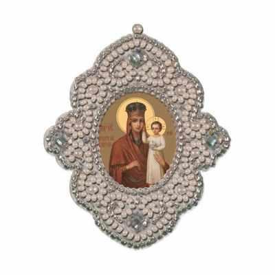 Набор для вышивания иконы Nova Sloboda РВ3101 Богородица Призри на смирение