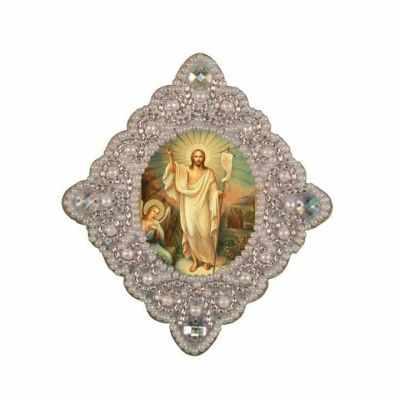 Набор для вышивания иконы Nova Sloboda РВ3005 Воскресение Христово яйцо шкатулка sima land воскресение христово высота 12 см