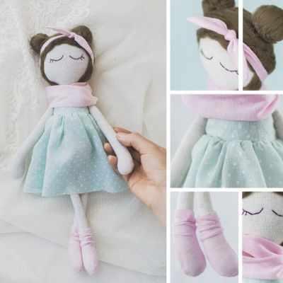 Набор для изготовления игрушки Арт Узор 3548688 Интерьерная кукла «Лола», набор для шитья