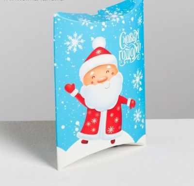 Фото - Подарочная коробка Дарите Счастье 4381646 Коробка сборная фигурная «С новым годом», 11 × 8 × 2 см коробка трансформер подарочная дарите счастье с новым годом 13 х 9 х 5 см