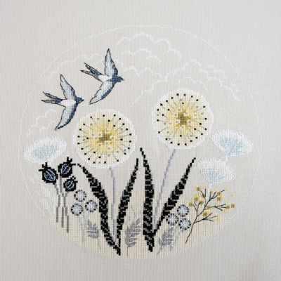 Фото - Набор для вышивания Марья искусница 03.017.03 Две ласточки набор для вышивания марья искусница 02 006 02 ла