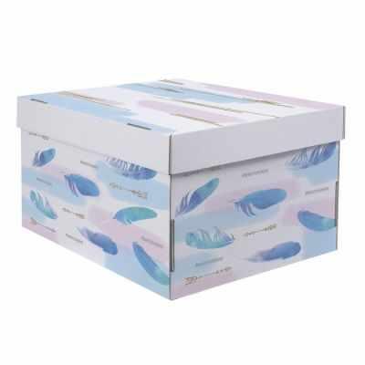 Фото - Подарочная коробка Дарите Счастье 2640223 Складная коробка «Лёгкости» коробка трансформер подарочная дарите счастье с новым годом 13 х 9 х 5 см