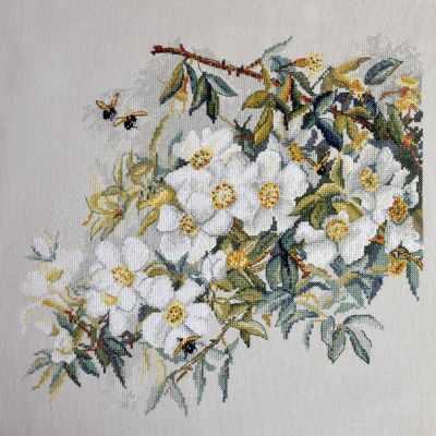 Набор для вышивания Марья искусница 06.002.73 Белый шиповник