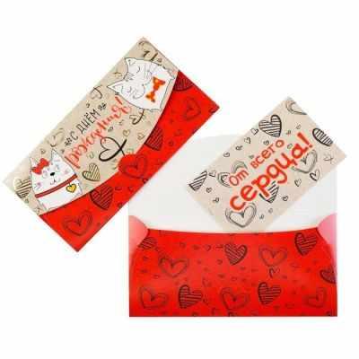 Подарочный конверт Русский дизайн 4651758 Конверт для денег