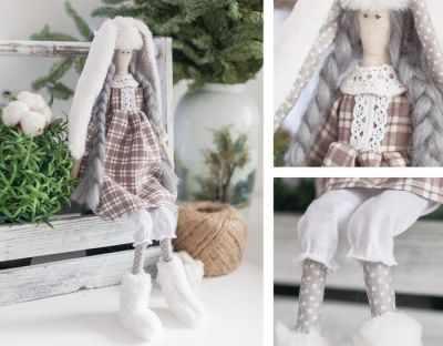 Набор для изготовления игрушки Арт Узор 4263011 Мягкая кукла «Нелли», набор для шитья