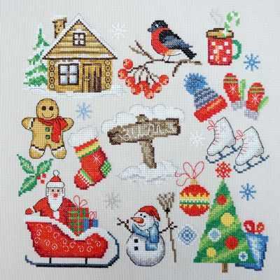 Фото - Набор для вышивания Марья искусница 11.002.25 Зима набор для вышивания марья искусница 11 002 25 зима