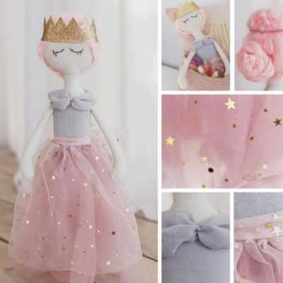 Набор для изготовления игрушки Арт Узор 3548687 Интерьерная кукла «Эни», набор для шитья
