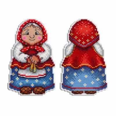 Фото - Набор для вышивания МП Студия Р-468 Бабушка набор для вышивания мп студия р 346 бабушка яга
