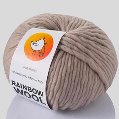 Пряжа RAINBOW BIRD Пряжа RAINBOW BIRD RAINBOW WOOL Цвет.Nude