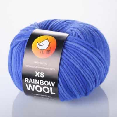 Пряжа RAINBOW BIRD Пряжа RAINBOW BIRD XS RAINBOW WOOL Цвет.Blue dream