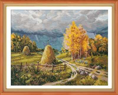 Набор для вышивания Овен 1273 Осенняя гроза