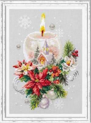 Набор для вышивания Чудесная игла 100-231 Рождественская свеча 1872 романтик чудесная игла чудесная игла