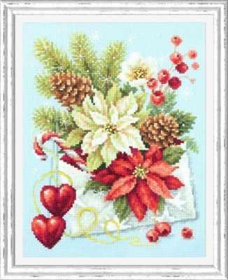 Набор для вышивания Чудесная игла 100-241 С рождеством! 1872 романтик чудесная игла чудесная игла
