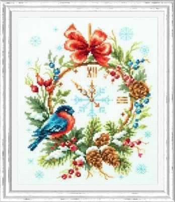 Набор для вышивания Чудесная игла 100-243 Время Рождества 1872 романтик чудесная игла чудесная игла