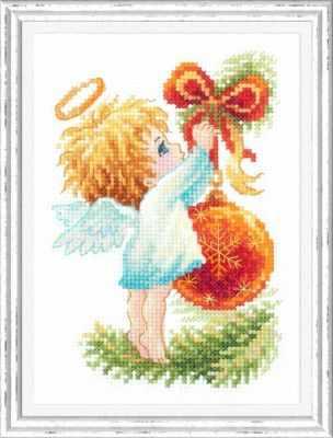 Набор для вышивания Чудесная игла 160-001 Ангел Рождества 1872 романтик чудесная игла чудесная игла