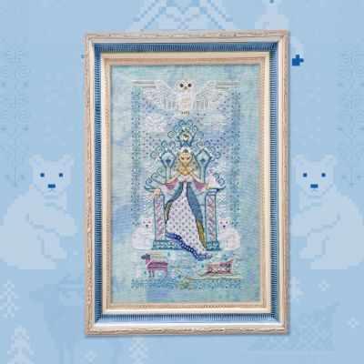 Схема для вышивания OwlForest 0063-СК-С Снежная Королева