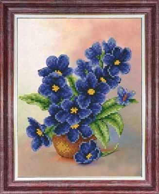 Основа для вышивания с нанесённым рисунком Каролинка КБЦ 4039 Симфония весны - схема (Каролинка)