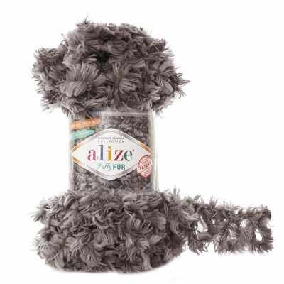 Пряжа Alize Пряжа Alize Puffy Fur Цвет.6105