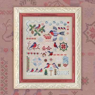 Схема для вышивания OwlForest 0067-Сн-С Снегири