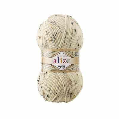 Пряжа Alize Пряжа Alize Alpaca Tweed Цвет.01